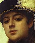 Ivan Nikolaevich Kramskoy Portrait of a Woman [detail] painting